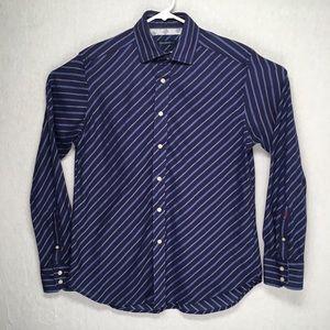 Robert Graham mens long sleeve casual button shirt
